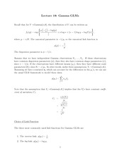 Stat 851 Gamma GLM notes
