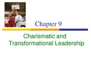 _Charismatic and Transformational Leadership @@