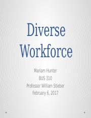 Diverse Workforce