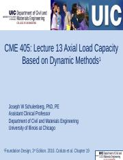 CME 405 Lecturer 13 Axial load capacity based on dynamic methods 20161117 322pm(1).pptx