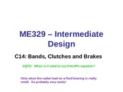Class 14-Bands, Clutches and Brakes (1)