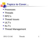 CS345 04 - Threads