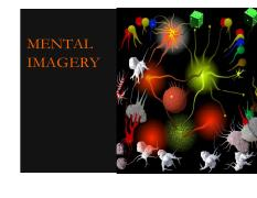 Lecture 21-22 Cognition (Mental Imagery)