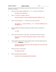 Chapter 1 Section 4 Read Assign KEY