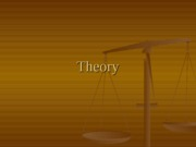 Theory (PowerPoint)