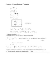 Lecture 8 Notes Integral Formulas