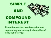 Simple-Compound-Interest Notes
