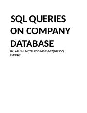 SQL QUERIES ON COMPANY DATABASE.docx