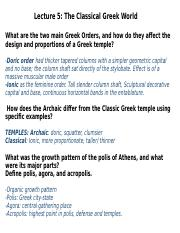 Lecture 5 - The Classical Greek World.pptx