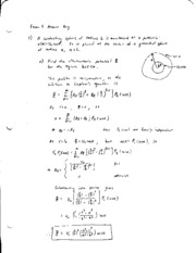 exam1 solutions