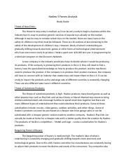 Rosile_Hasbro 5 Forces Analysis.docx
