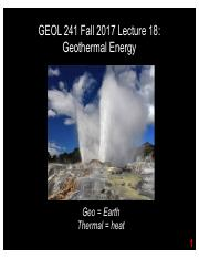 GEOL241 F2017 Lect18 -- Geothermal.pdf