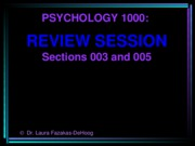 Review session 1 (Chapters 1-4) (Questions only) 2010-2011