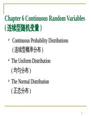 ch06-Continuous Random Variables (1).ppt