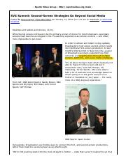 Sports Video Group » SVG Summit  Second-Screen Strategies Go Beyond Social Media » Print.pdf
