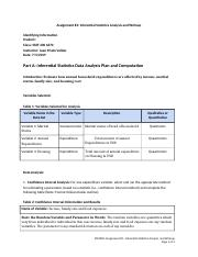 STAT 200 6370 Assignment #3_ Inferential Statistics Analysis and Writeup - Template.rtf
