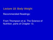 Lecture 18 - Body Weight2