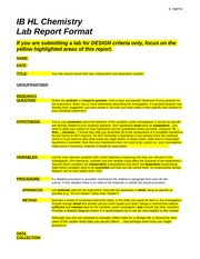 lab report guide