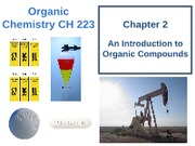 Chapter 2 - An Introduction to Organic Compounds