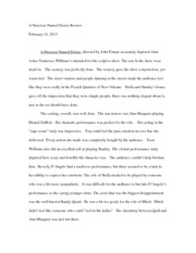 Auto Mechanic example college essay