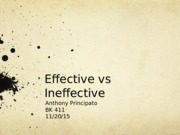 EffectiveIneffective