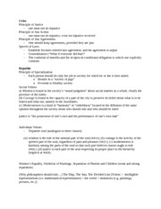 philosophy exam terms