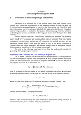 12th lecture Alternating Current and Voltage
