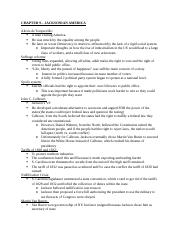 APUSH outline - chapter 1 - Chapter 1 The Meeting of