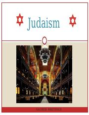 Scriptures and Groups in Judaism.pptx