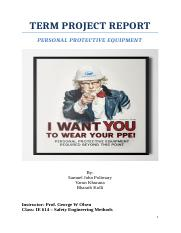 Term Project - PPE