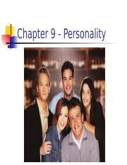 Lecture 9 - Personality.pptx