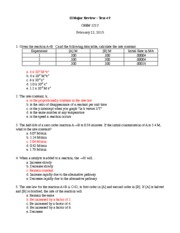 SI Major Review-Test#2 SP'15 ANSWERS