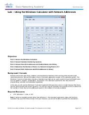 8.1.2.7 Lab - Using the Windows Calculator with Network Addresses.pdf