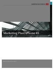Marketing Plan - iPhone 4S in Vietnam
