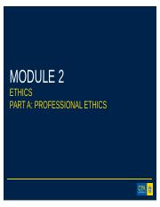 Module 2 Part 1_CPA Ethics and Governance
