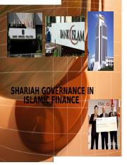 Chapter7 Shariah Governance in Islamic Finance-1