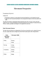 Movement Perspective
