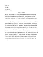 Taming of the Shrew Question Paragraph
