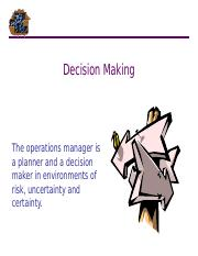 1-Decision Making.ppt