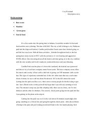 English Descriptive story eassy.doc