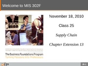 F10-Class-25-Supply Chain