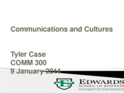 2.COMM300 2013_Communication & Culture POST