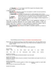 Hardy-weinberg essay