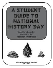National History Day Survival Guide.pdf