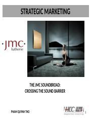 jmc soundboard case study analysis