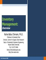 W01-1 - Inventory Management - Overview.pdf