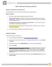 calorimetry lab gizmo answers pg7.jpeg - Activity C ...