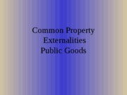 common property