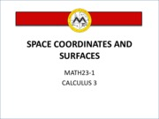 L1 Space Coordinates and Surfaces.pdf