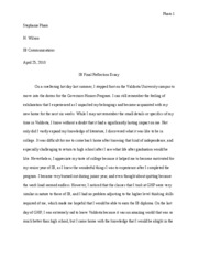 Communications Final Essay comments